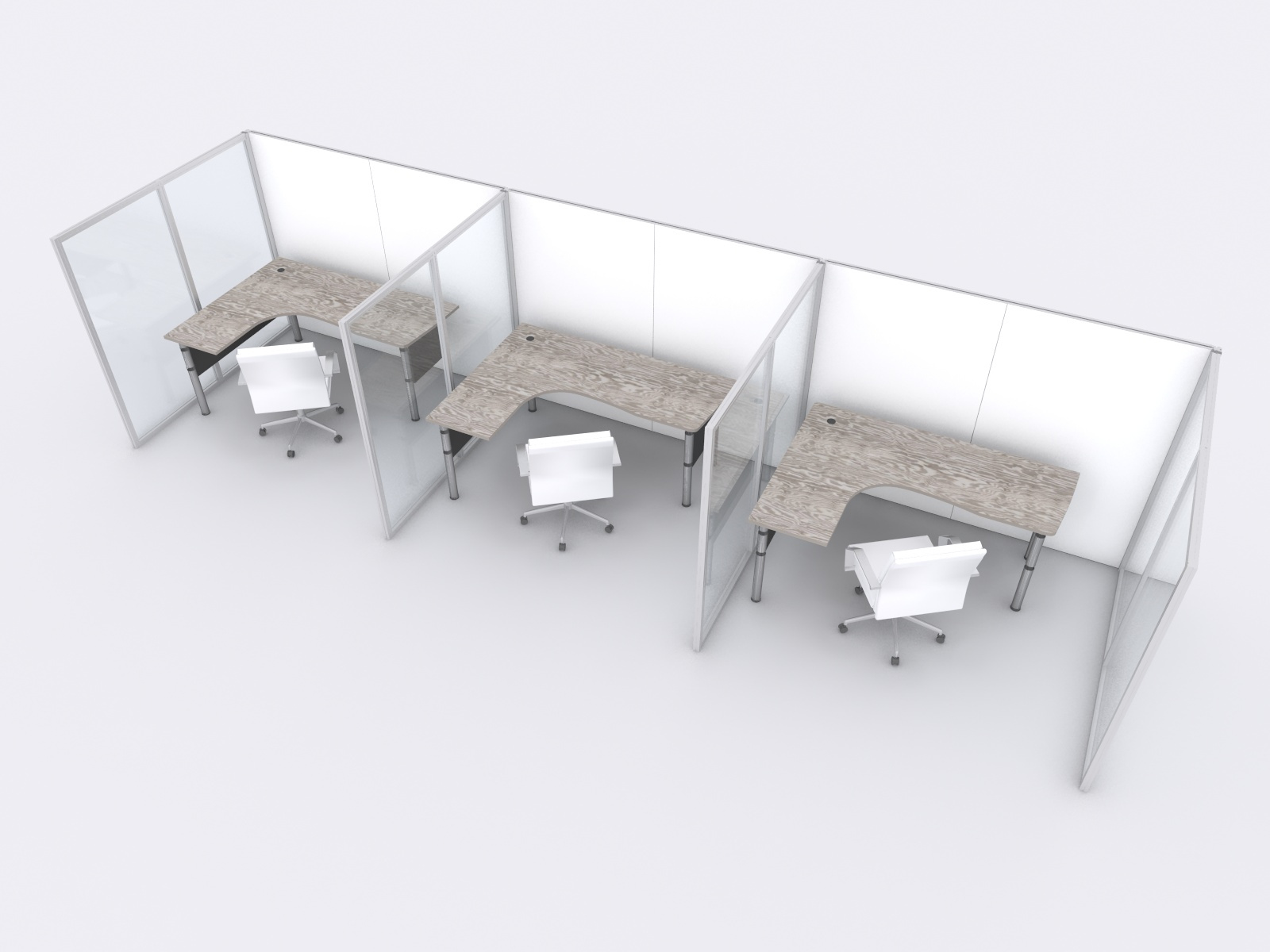Translucent Office Dividers