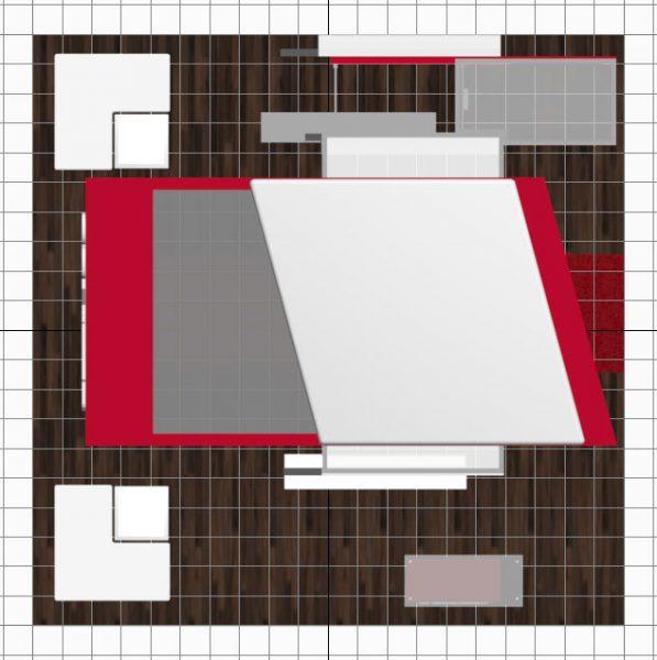 20x20 Floor Plan