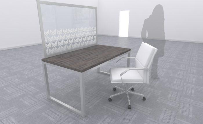 Desktop Divider Silver A