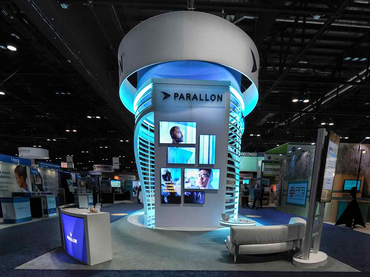 Final Parallon Booth Image
