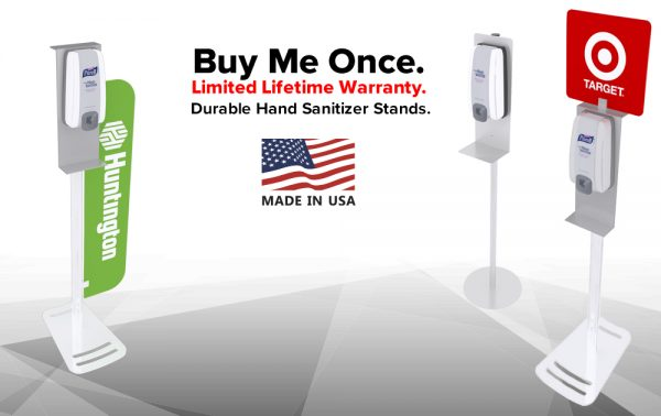Sanitizer Stands Made In Usa
