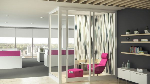 Steelcase Full-Height Wall Dividers